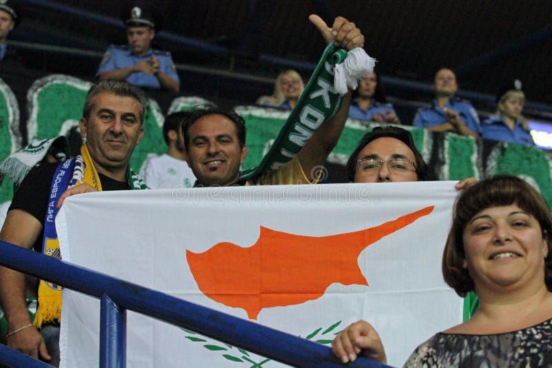 Ventilateurs à C.A. Omonia Nicosia images libres de droits