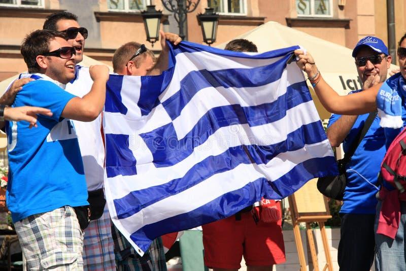 Ventilateurs grecs photos stock