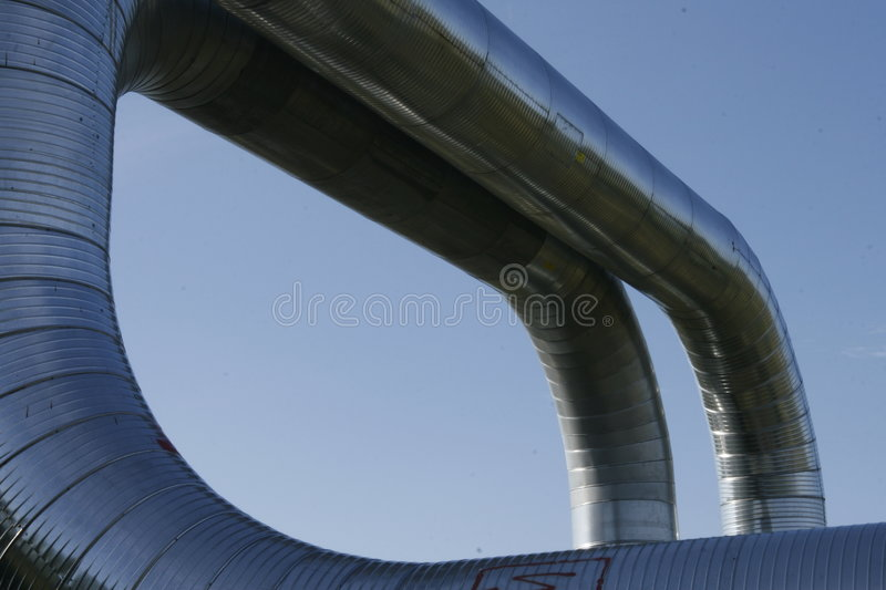 Ventilation ducts royalty free stock image