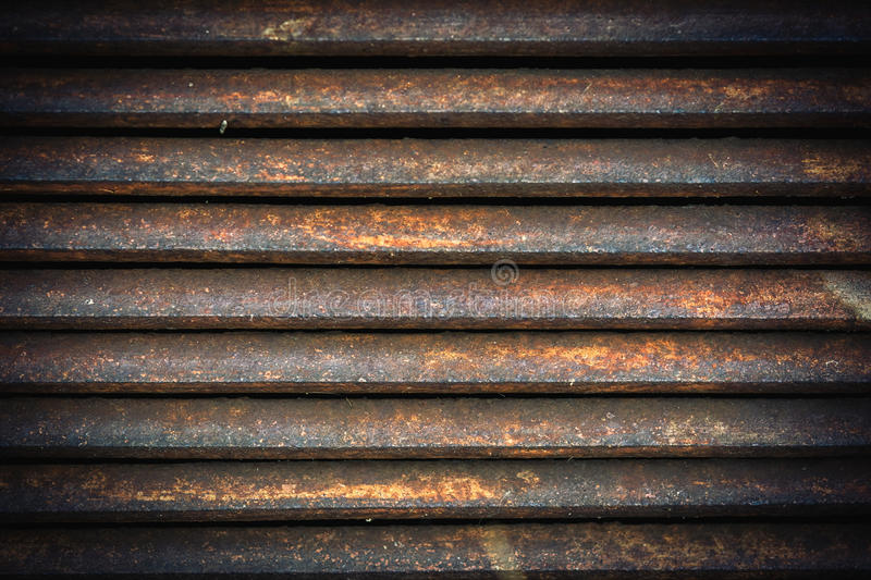 Ventilation metal grating. Vintage metal grid background stock photography