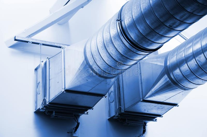 Download Ventilation pipes stock image. Image of funnel, conditioner - 13885717