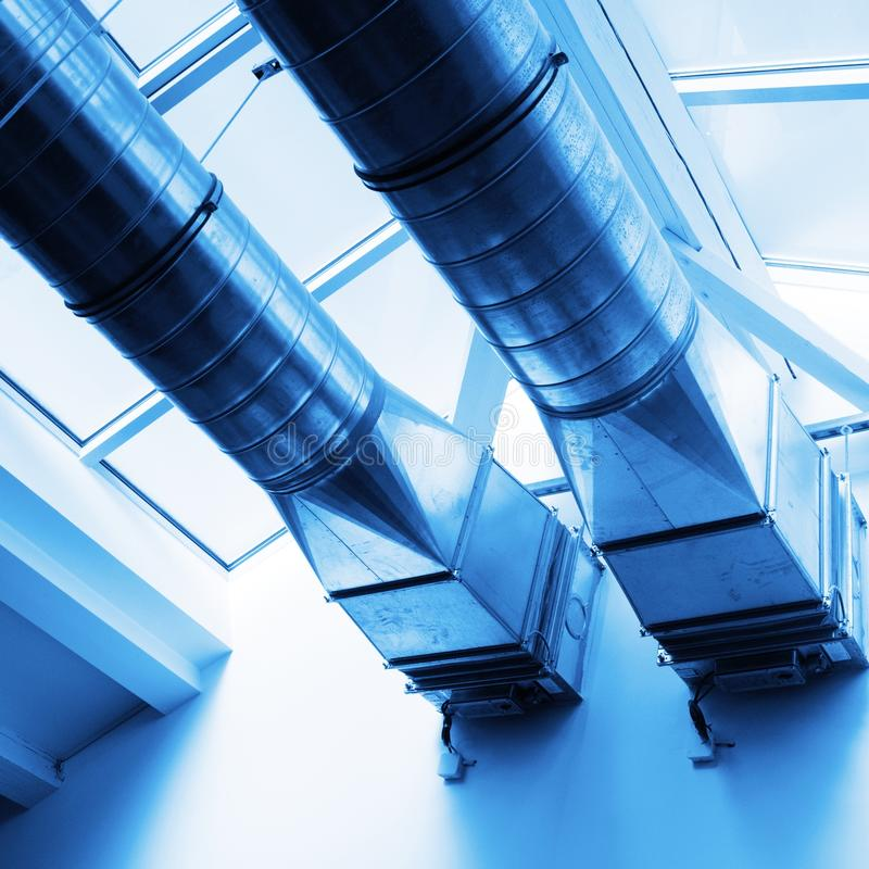 Download Ventilation pipes stock image. Image of condition, funnel - 14017919