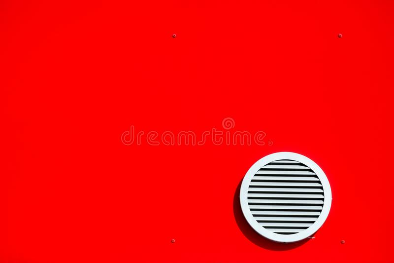 Ventilation system and circle vent window stock photos