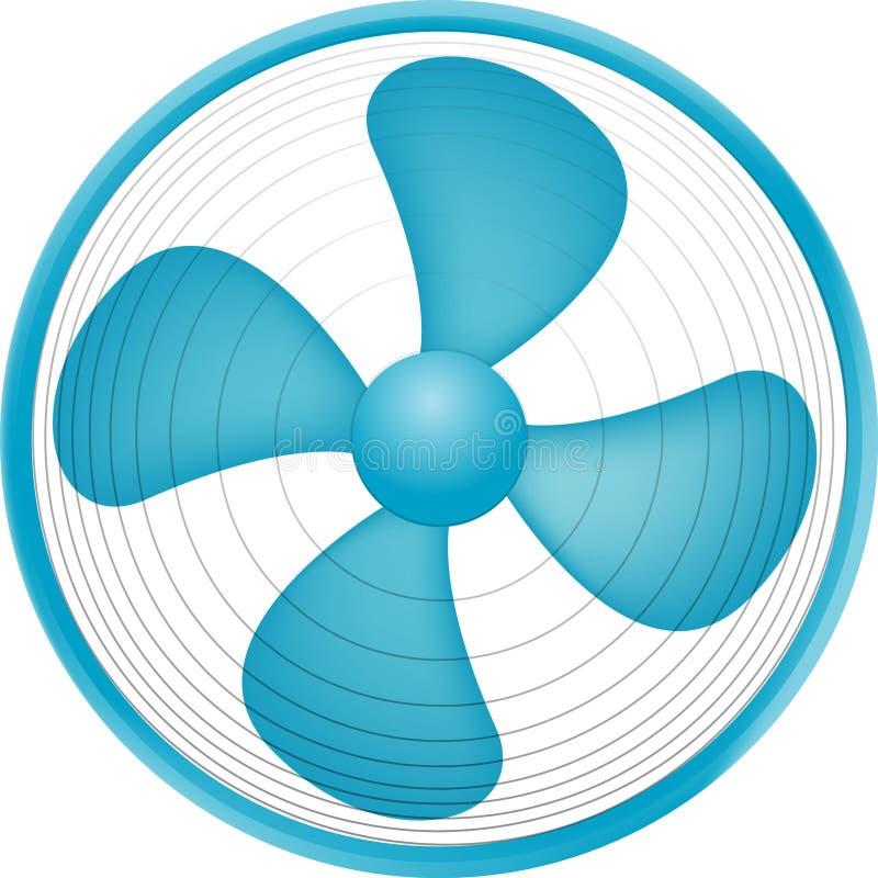 Ventilator vector illustratie