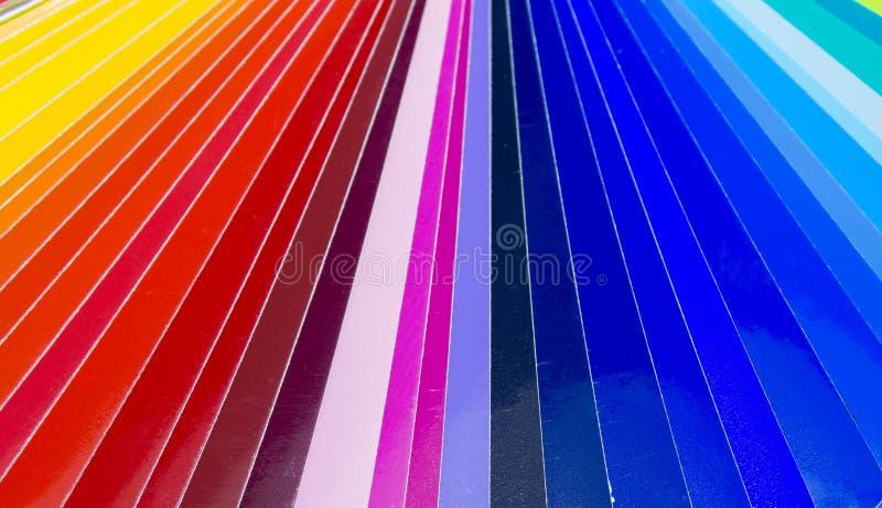 Ventilator van kleurrijk zelfklevend vinyl Geïsoleerde royalty-vrije stock afbeeldingen