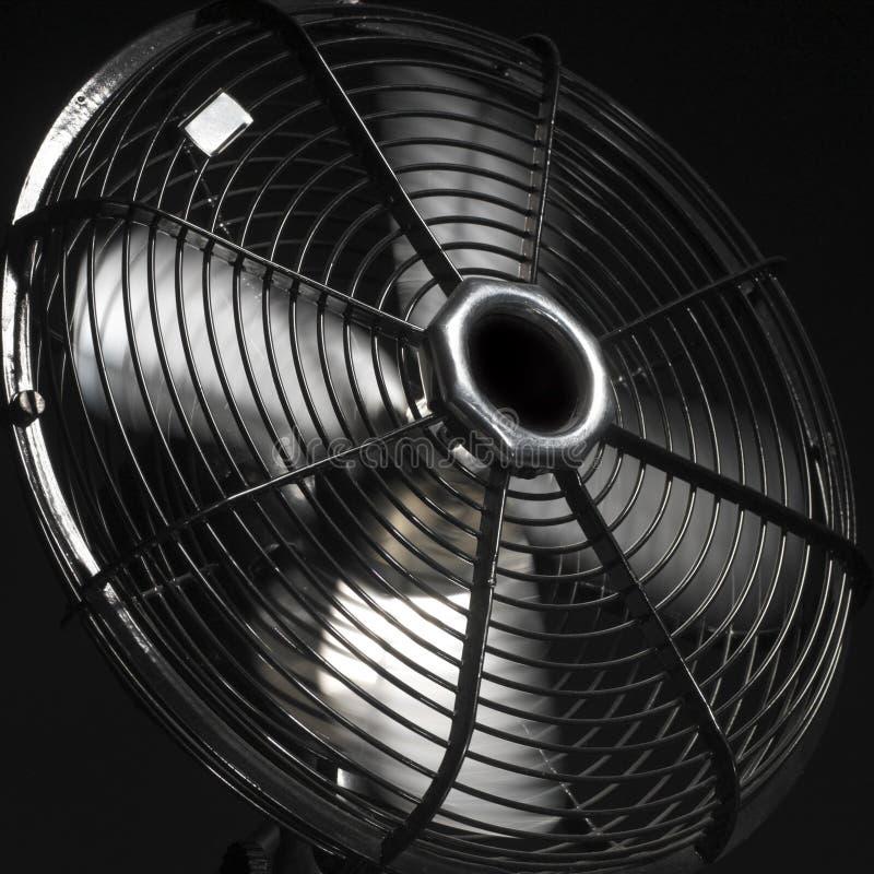 Ventilator of ventilator in actie stock foto