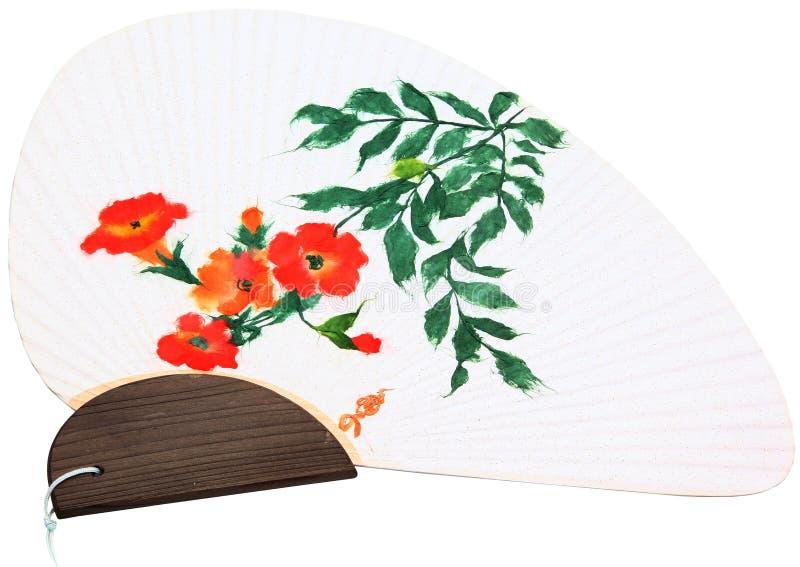 Ventilatore asiatico fotografie stock libere da diritti