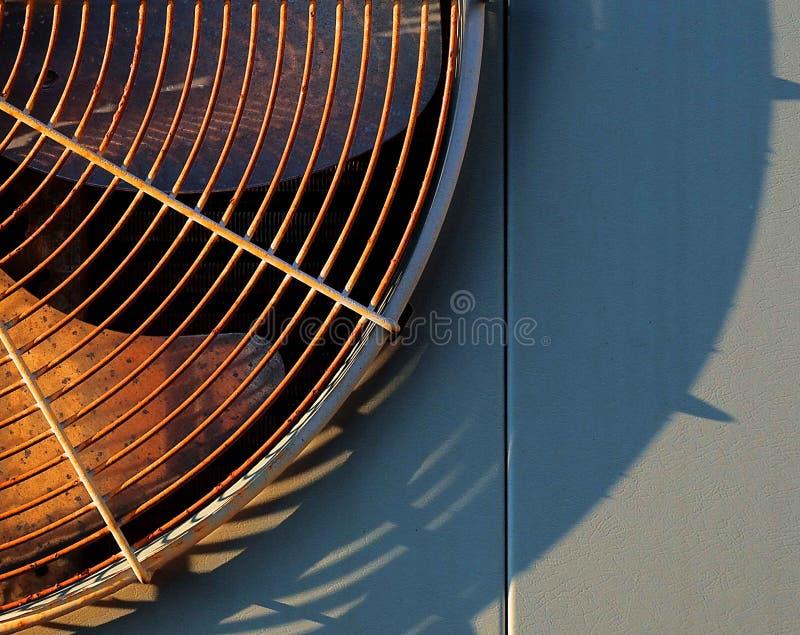 Ventilatore del condizionamento d'aria immagine stock