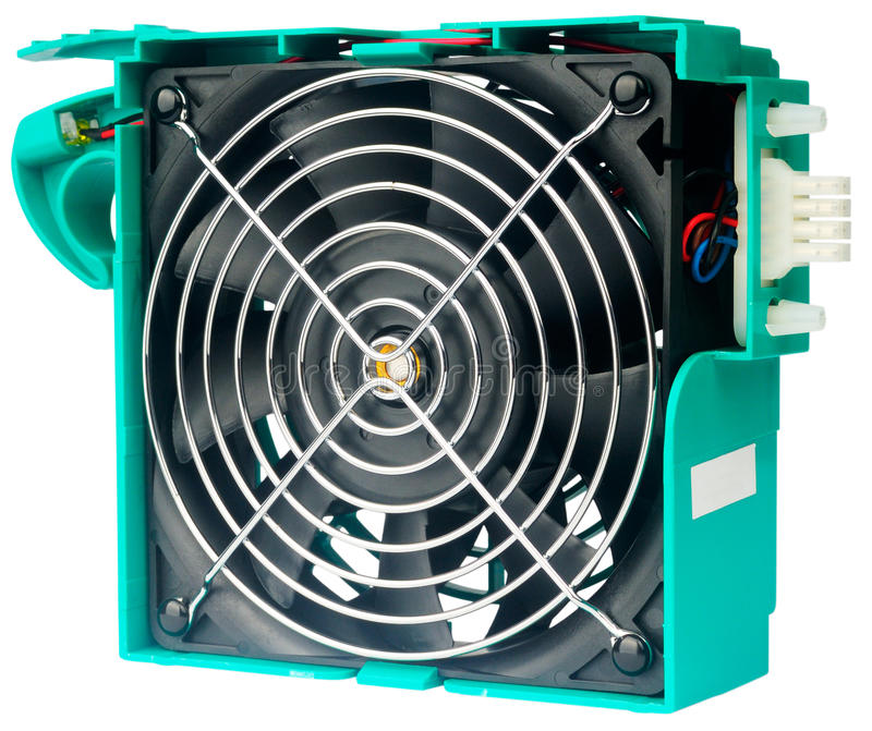 Ventilatore del server fotografia stock