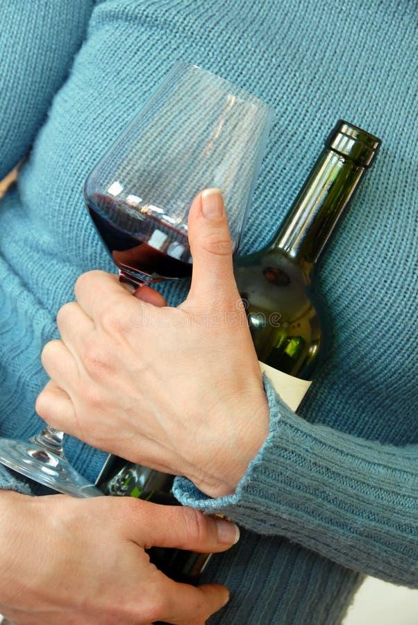 Ventilatore del vino fotografia stock libera da diritti
