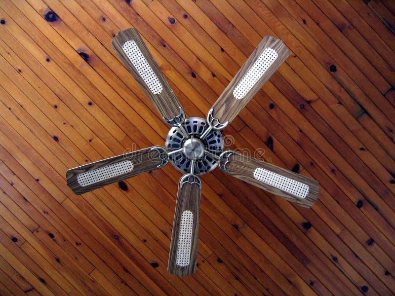 Ventilatore di soffitto della casa di campagna fotografia stock