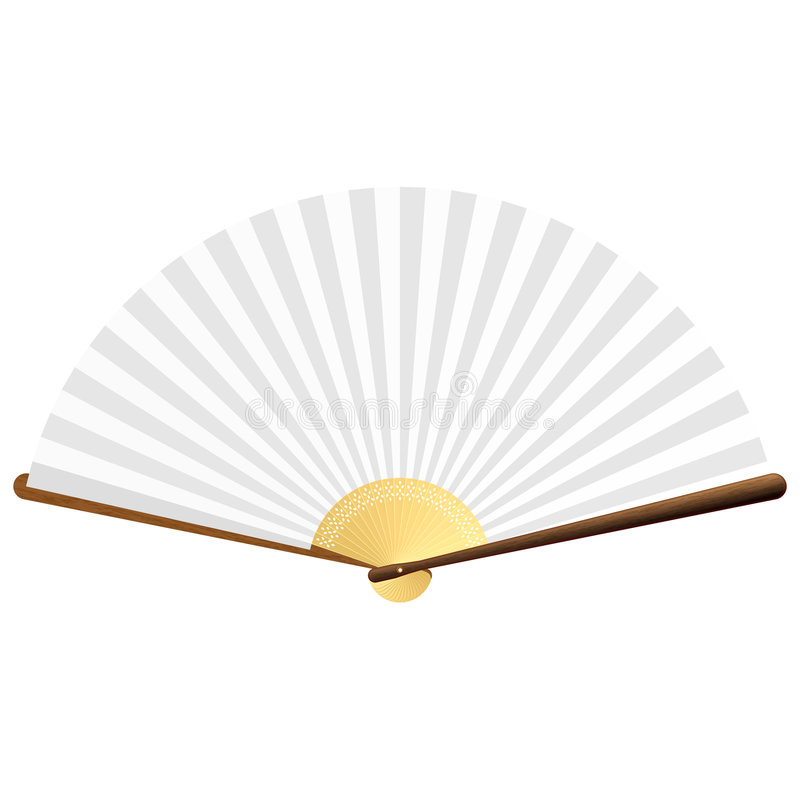 Ventilatore di vettore royalty illustrazione gratis