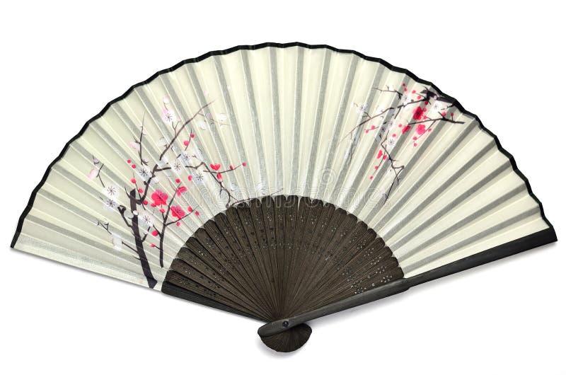 Ventilatore piegante giapponese. fotografia stock