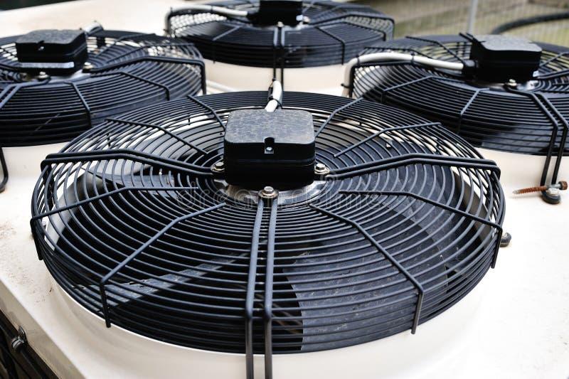 Ventilatori del condizionamento d'aria fotografia stock