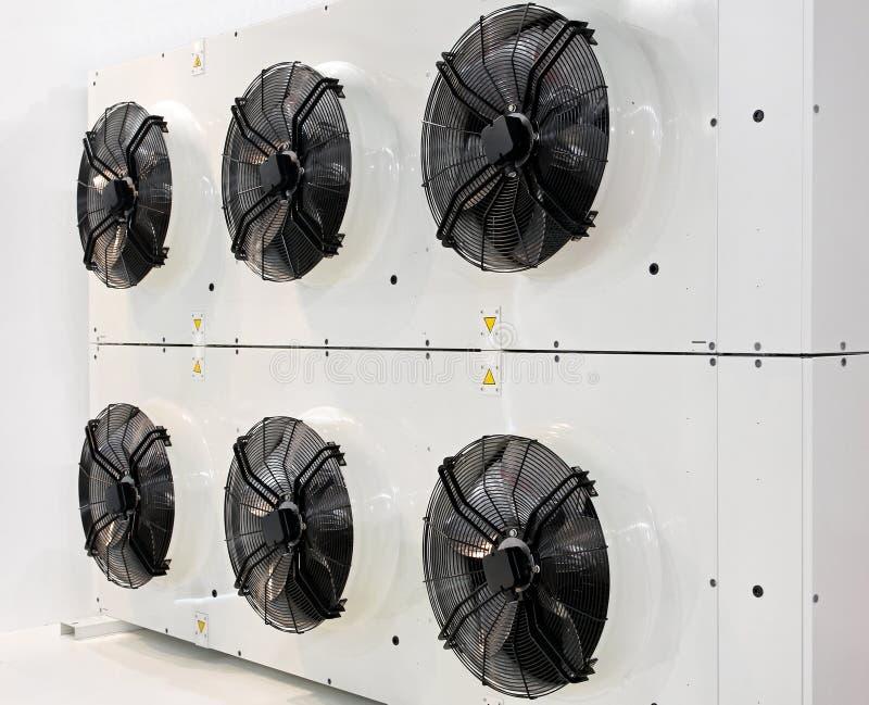 Ventilatori industriali fotografie stock