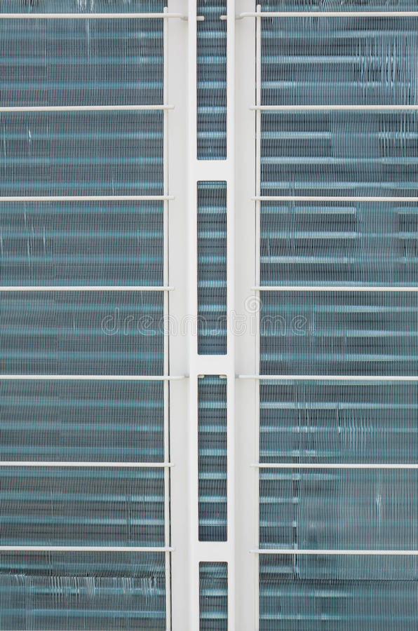 Ventilatorkonvektor-Einheitsnahaufnahme stockbild