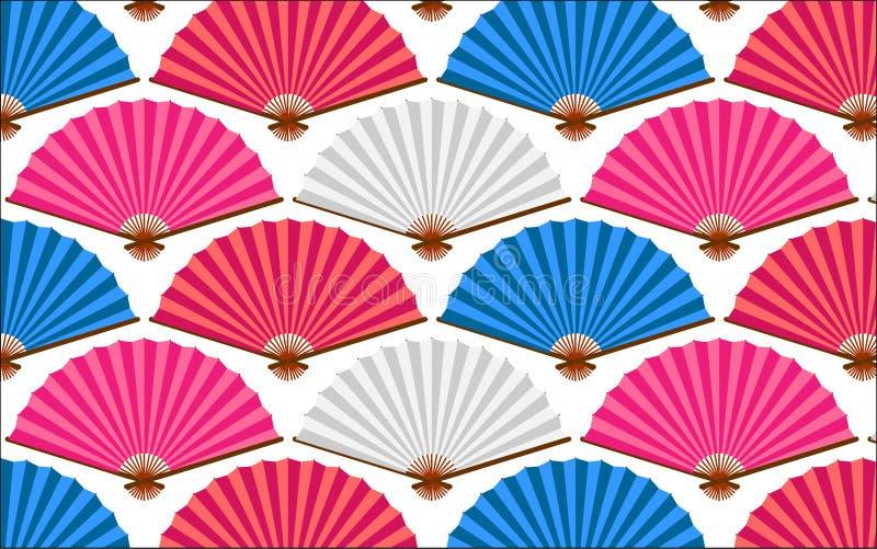 Ventilatorpatroon vector illustratie