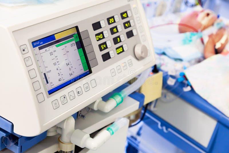Ventilazione polmonare artificiale fotografia stock libera da diritti