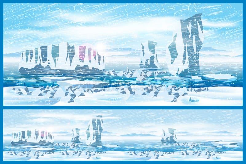 Ventisca ártica libre illustration