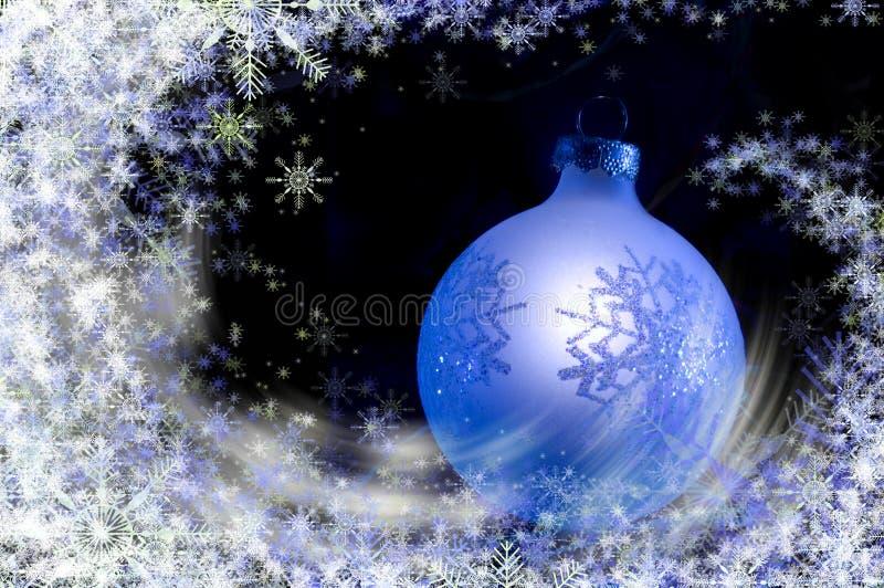 Ventisca de la Navidad libre illustration