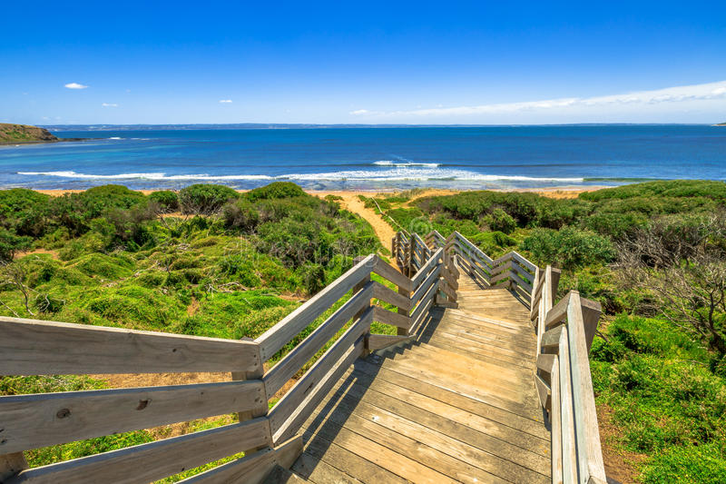 Ventnor Bech Phillip Island imagens de stock royalty free