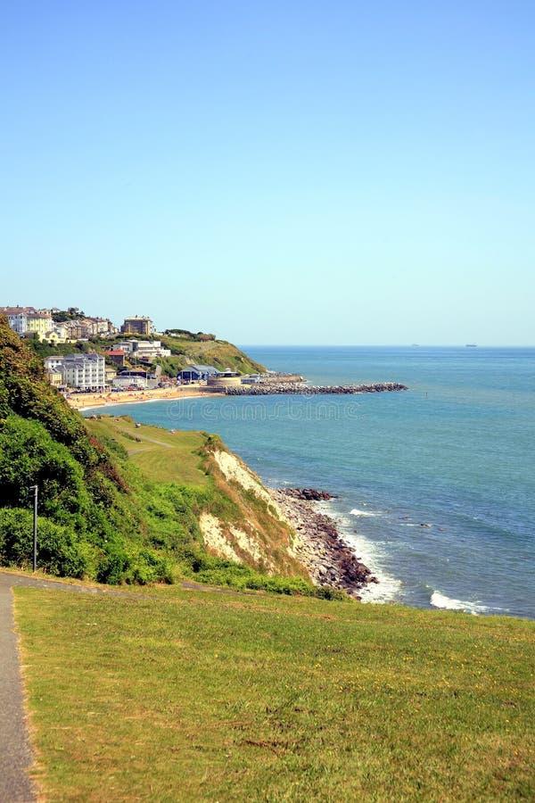 Download Ventnorkustlijn, Het Eiland Wight. Stock Foto - Afbeelding bestaande uit walking, wight: 39106654