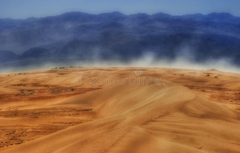 Vento de Death Valley imagem de stock