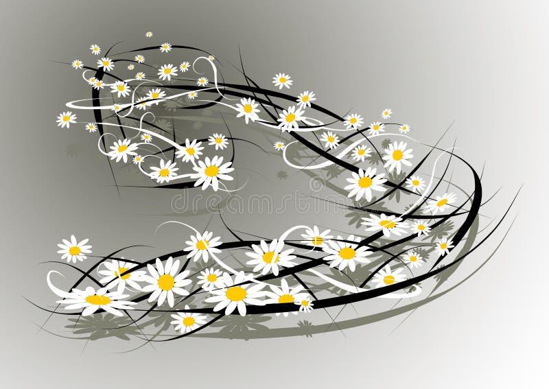 Vento dei fiori fotografia stock