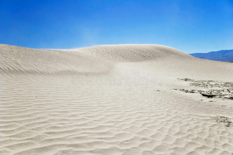 Vento del deserto immagini stock