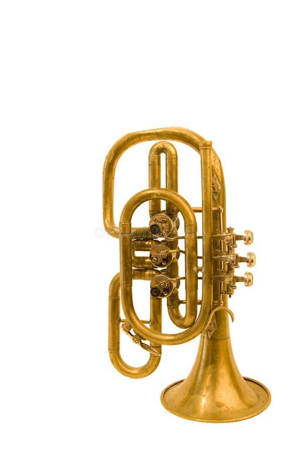 Vento-instrumento do musical do vintage foto de stock royalty free