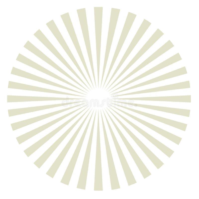 Vento solare. illustrazione di stock