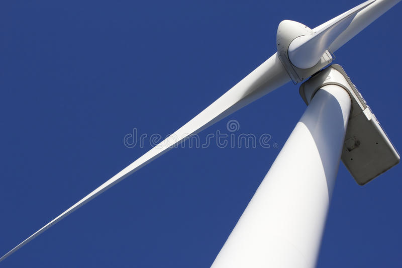 Vento-turbina fotografia stock