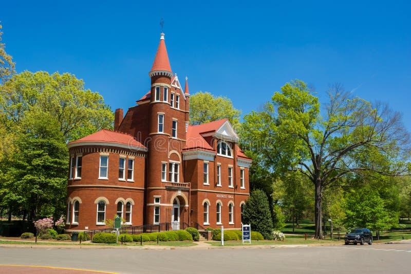 Ventress Salão na universidade de Mississippi fotografia de stock