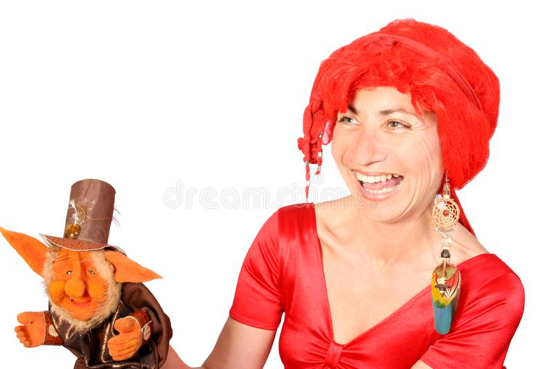 Download Ventriloquist stock photo. Image of concept, dressed, enjoy - 4086308