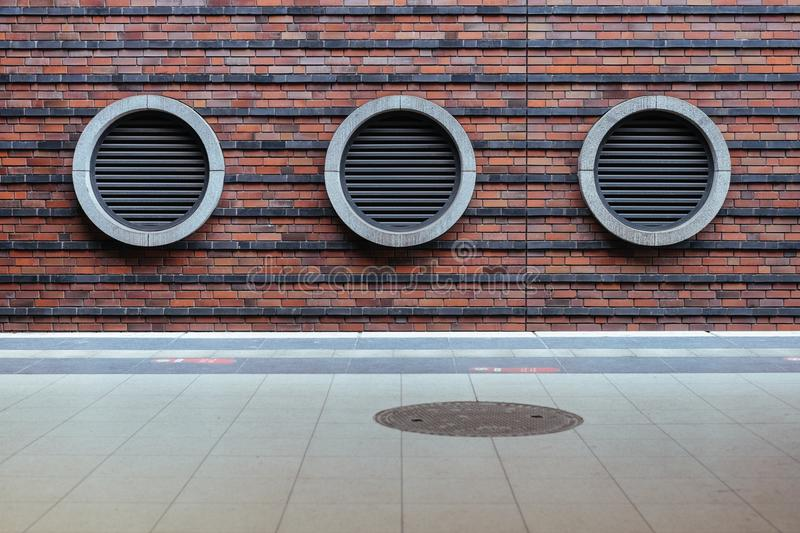 Vents On Brick Wall Free Public Domain Cc0 Image