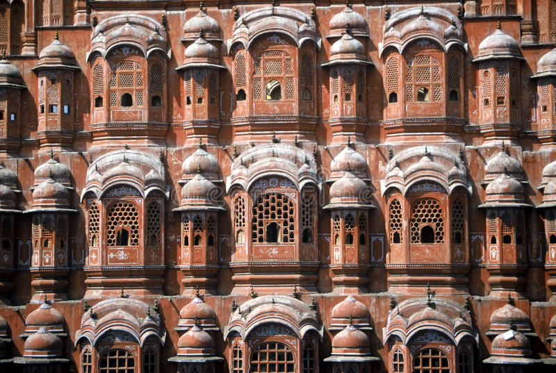 vents de palais de l'Inde image stock