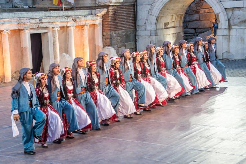ventunesimo festival internazionale a Filippopoli, Bulgaria fotografia stock