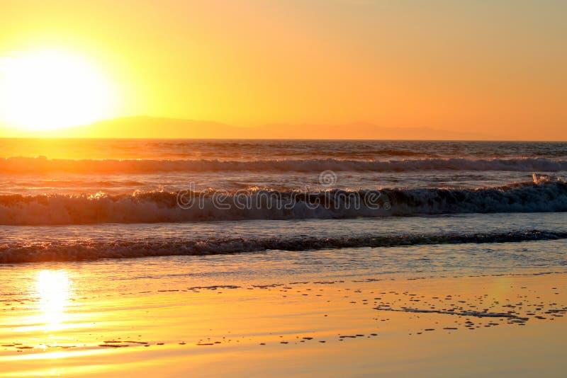 Ventura ηλιοβασίλεμα στοκ εικόνες