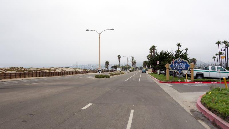 Ventura λιμενικό χωριό στοκ φωτογραφία με δικαίωμα ελεύθερης χρήσης