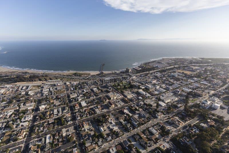 Ventura California Aerial stockfotografie