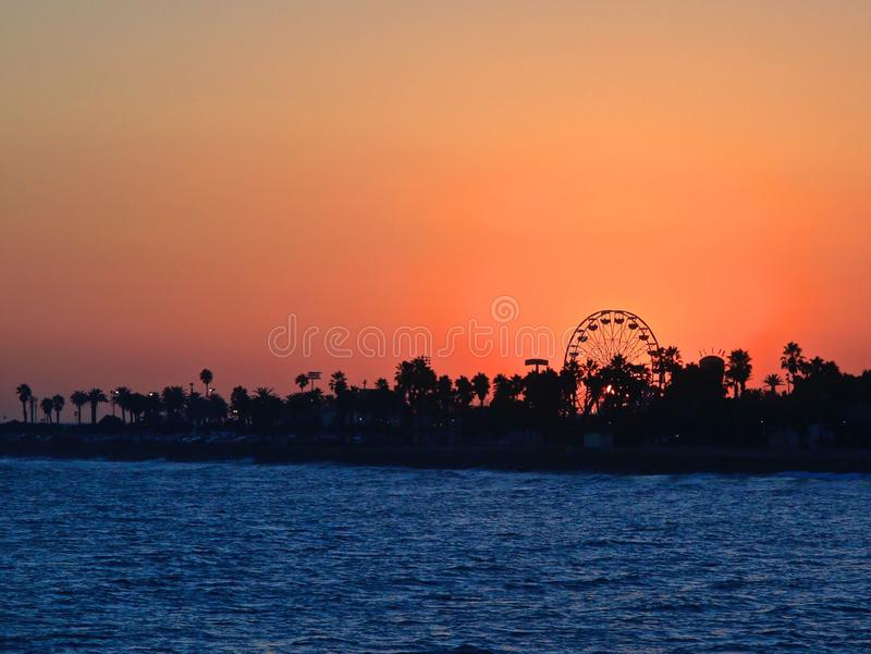 Ventura County Fair Sunset stock images