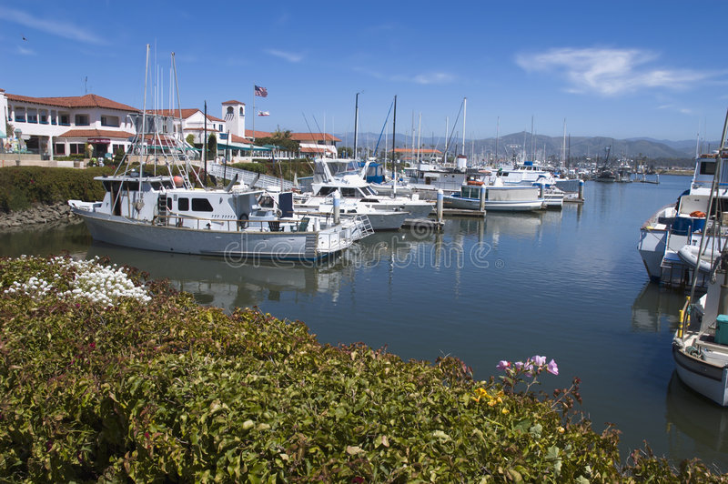 Ventura-Hafen-Dorf lizenzfreie stockfotos