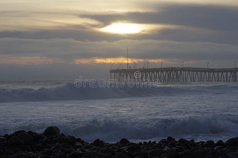 Ventura, Kalifornia, Santa Barbara kanał zdjęcie royalty free