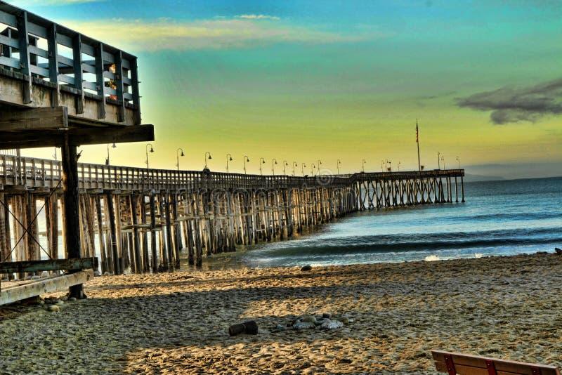 Ventura Pier stockbild