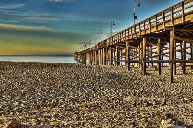 Ventura Pier fotografía de archivo libre de regalías