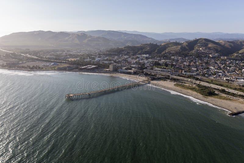Ventura Pier in Süd-Kalifornien lizenzfreies stockbild