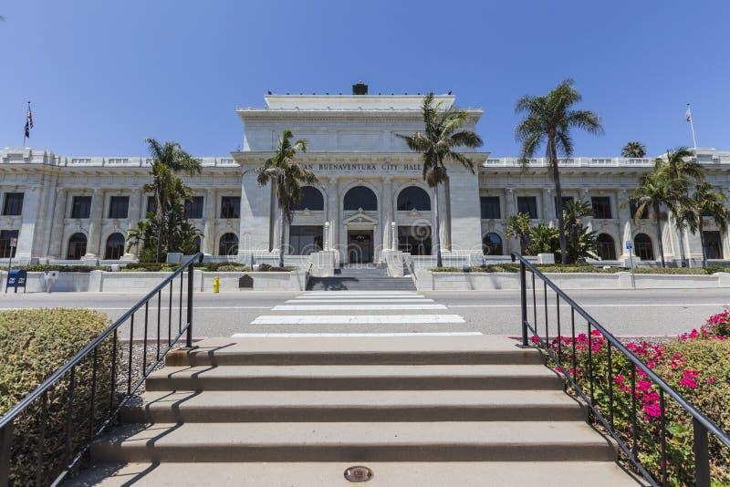 Ventura urząd miasta Południowy Kalifornia zdjęcia royalty free