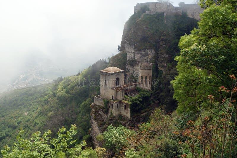Venus Castle at Erice, Sicily, Italy royalty free stock photos