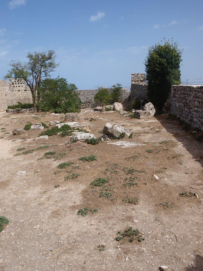 Venus castle, Erice, Sicily, Italy royalty free stock photo
