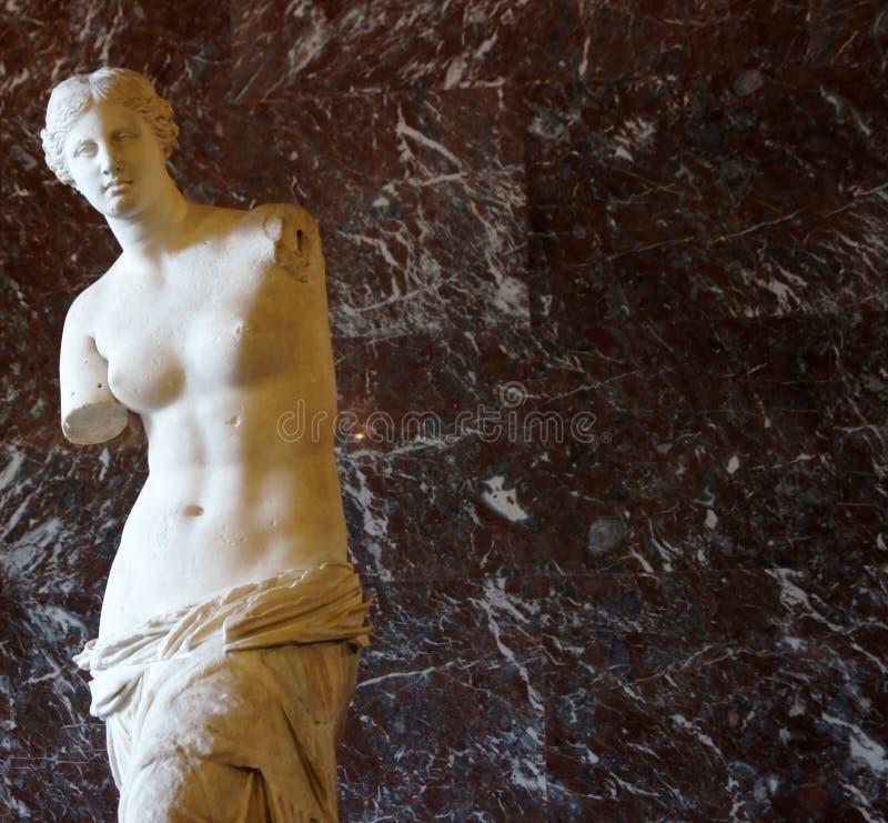 Venus de Milo. In Louvre, Paris, France stock photos